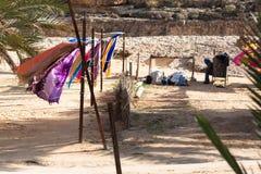 Män Prayants, Tunisien Arkivfoton