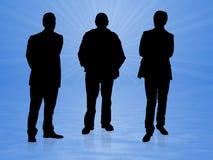 män tre Royaltyfri Bild