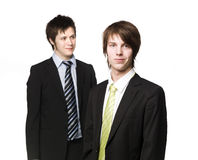 män två Royaltyfri Foto