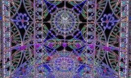 Mängd av ljus i natten Arkivbild