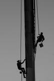 Männer bei der Arbeit Stockbild