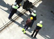 Männer bei der Arbeit Lizenzfreie Stockfotos