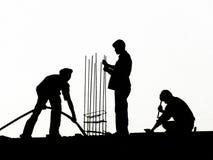 Männer bei der Arbeit lizenzfreies stockbild
