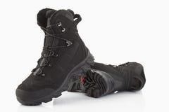 Männer, die Schuhe wandern Stockfotos