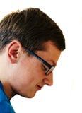 Männer mit Gläsern stockfoto