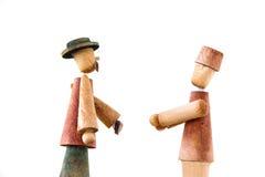 Männer mit Hüten Stockfotos