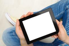 Männer mit Tablet lizenzfreies stockfoto