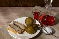 Männer ` s Abendessen Lizenzfreie Stockfotografie
