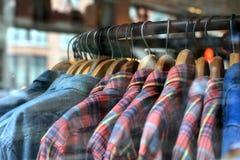 Männer ` s Kleidung Stockbild