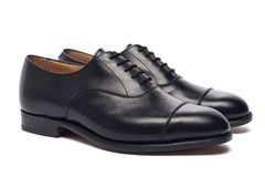 Männer ` s Schuhe Stockfotografie