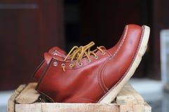 Männer ` s Schuhe für Mode und Arbeit Stockfoto