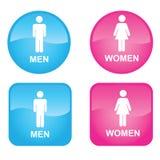 Männer und Frauen Lizenzfreie Stockfotos