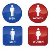 Männer und Frauen Stockfotos