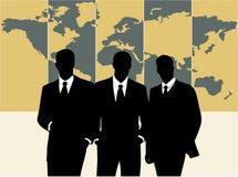 Männer und Welt Lizenzfreie Stockfotos
