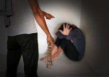 människohandel Arkivfoton