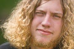 Männliche blonde Rotationen Lizenzfreies Stockbild