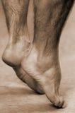 Männliche Füße Lizenzfreie Stockbilder