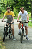 Männliche Freundschaft Lizenzfreie Stockfotos