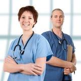 Männliche Krankenschwester Stockfotos