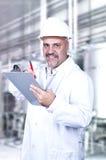 Männliche Qualitätskontrolle lizenzfreie stockbilder