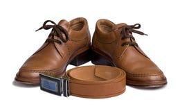 Männliche Schuhe stockfoto