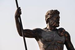 Männliche Statue Lizenzfreie Stockfotos