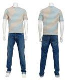 Männliche Strickjacke auf Mannequin Lizenzfreies Stockbild