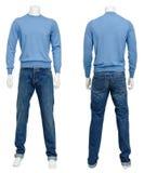 Männliche Strickjacke auf Mannequin Lizenzfreie Stockfotografie