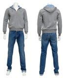 Männliche Strickjacke auf Mannequin Lizenzfreies Stockfoto
