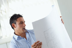 Männlicher Architekt Lizenzfreies Stockbild