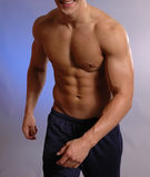 Männlicher Athlet Stockbild