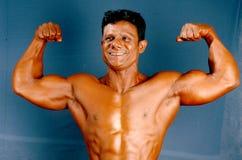 Männlicher Bodybuilder Lizenzfreies Stockfoto