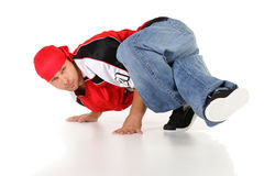 Männlicher Hip-Hop-Tänzer Lizenzfreie Stockfotografie