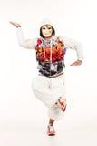 Männlicher Hip-Hop-Tänzer Stockfotografie