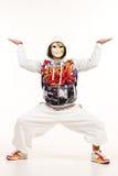 Männlicher Hip-Hop-Tänzer Stockbilder