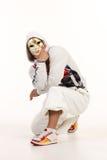 Männlicher Hip-Hop-Tänzer Lizenzfreies Stockfoto