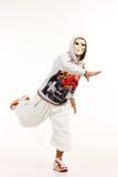 Männlicher Hip-Hop-Tänzer Stockbild