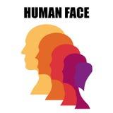 Männlicher Kopf Stockbild