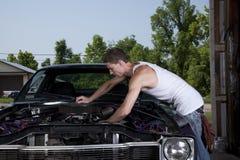 Männlicher Mechaniker Stockbild