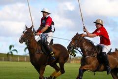 Männlicher Polo-Spieler Lizenzfreie Stockbilder