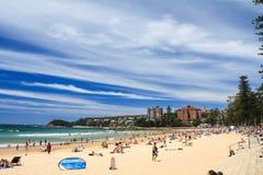 Männlicher Strand, Sydney Stockfoto