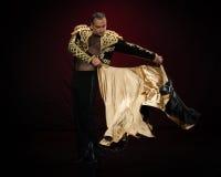 Männlicher Tänzer. Stockfotos