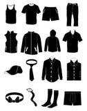 Männliches Kleid stock abbildung