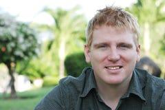 Männliches Portrait Lizenzfreies Stockfoto