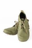 Mäns kängor och skor Arkivfoton