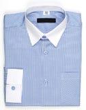 Mäns skjorta, blått Royaltyfri Foto
