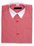 Mäns skjorta, krage Arkivbild