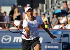 Mäns yrkesmässiga tennis Arkivfoto