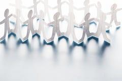Mänsklig Chain docka Royaltyfri Fotografi