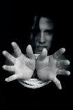 Mänsklig människohandel - begreppsfoto Royaltyfri Fotografi